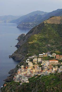 Riomaggiore and Cinque Terre, Italy by Petr Svarc on 500px