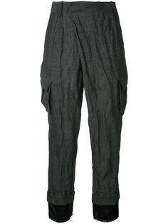 A.F.VANDEVORST Pocket Cropped Trousers. #a.f.vandevorst #cloth #trousers