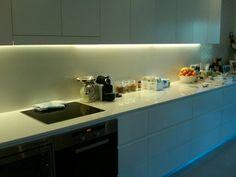 Cozinha com led