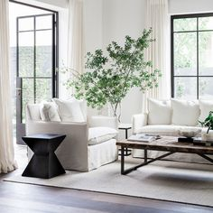 Sleek lines and superior comfort; the Avery Sofa range offers contemporary form in any space. Sleek lines and superior Coastal Living Rooms, Living Spaces, Living Room Inspiration, Interior Inspiration, Style Inspiration, Living Room Furniture, Living Room Decor, White Furniture, Dining Room