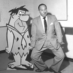 Alan Reed - actor best known for being the voice of Fred Flintstone. He died on June 14, 1977 at the age of 69