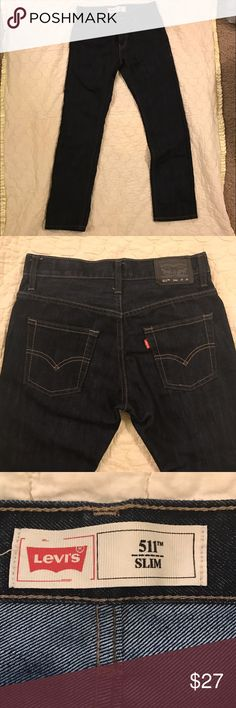 Boys Levi's Jeans Boys 👖size 14. Dark blue. Only worn once. Good condition. Make me an offer 😊 Levi's Jeans Straight Leg