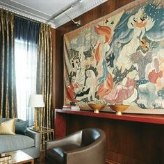Tapestry: 18 Rooms Where Wall Hangings Steal the Show Photos | Architectural Digest