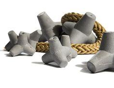 MARINE concrete knob design Urbi et Orbi 2014