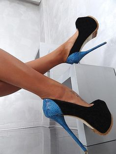 Yaaaa, these  are not for the average gal! My ankle would be broken before I got to the front door.