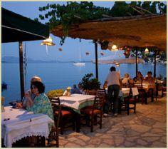 Tavern Seven Islands - Lygia Lefkada
