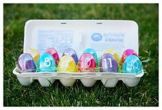 List of things to do with plastic easter eggs
