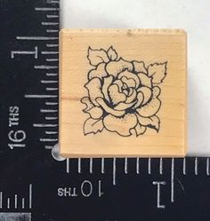 PSX Rubber Stamp Petite Rose Floral Botanical Flourish Flower Garden A080 T972 #PSXDesigns
