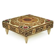 Caramela Suzani Ottoman or ultimate pimped out hookah table for those is the know.