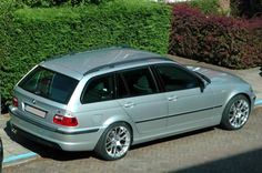 BMW E46 Touring. One of my all time favorite wagons.