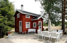 Outdoor Living, Outdoor Decor, Home Fashion, Seaside, Countryside, Shed, Outdoor Structures, Cabin, House Styles