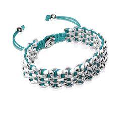Silver Kismet Links Bracelet | Mediterranean Sea