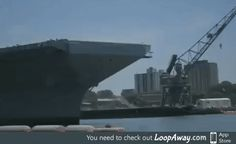 Trucks launched off USS Gerald Ford aircraft carrier to test its jet catapult system
