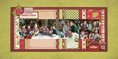 4 photo to 7 photo Christmas Shari's Scrapbook
