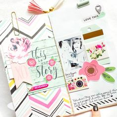 Love Planners, KEEP Collective, Lemongrass Spa and Papercrafting! I'd love to help you design your own KEEP creation. DM me or…
