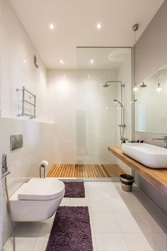 This Is The Overall Style Of The Bathroom (very Minimal Because Mostly Used  For Guest)