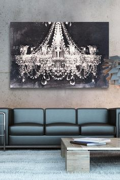 Oliver Gal Dramatic Entrance Night Canvas Art by Oliver Gal Gallery on @HauteLook
