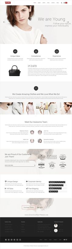 Unica Personal One-page HTML5 Template - resume site template