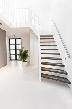 Home Design Decor, Home Interior Design, House Design, Home Decor, Open Trap, Amsterdam, Apartment Goals, House Goals, Next At Home