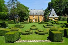 jardins manoir eyrignac - jardins a la francaise