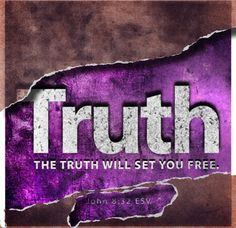 The Truth Will Set You Free...God Is Still In Charge No Matter What.