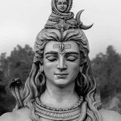 icu ~ 48216475 Most of the images and sculpture of Lord Shiva depict the River Ganga flowing from his matted hair. Lord Shiva Statue, Lord Shiva Pics, Lord Shiva Hd Images, Lord Shiva Family, Rudra Shiva, Mahakal Shiva, Aghori Shiva, Kobe Bryant, Lord Shiva Hd Wallpaper