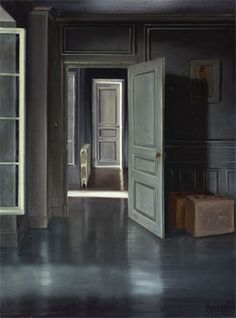 Rien a Cacher - Claude Lazar, oil on canvas