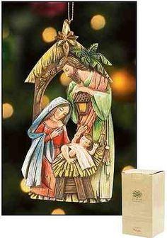 "2pcs 5"" Mary Joseph Baby Jesus Christmas Nativity with Star Ornament by Milgros, http://www.amazon.com/dp/B008QMO6N6/ref=cm_sw_r_pi_dp_CsGfqb1F66EJZ $24.74"