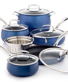 Belgique Aluminum 11 Piece Cookware Set