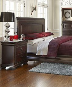 Beau Whitmore Cherry 5 Pc King Platform Bedroom | Pinterest | King Bedroom,  Queen Bedroom And Bedrooms