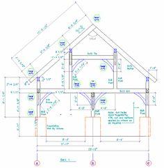 Timber Frame Garage Design