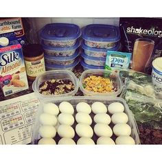 Lots of 21 day fix meal prep ideas! #21dayfix