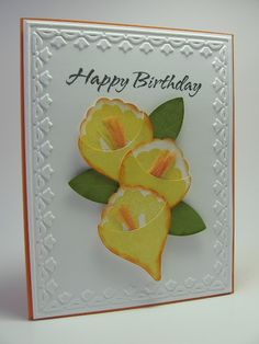 Stampin up Build a Blossom 121994 would make a nice Easter card.