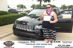 #HappyBirthday to Jessica Battersby from Susie Garrison at Huffines Chrysler Jeep Dodge Ram Lewisville!