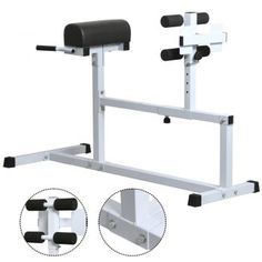 Yaheetech Hyper Extension Workout Training Bench Fitness Strength Roman Chair Capacity 440 lb ** Be sure to check out this awesome product. Strength Training Equipment, No Equipment Workout, Fitness Equipment, Fun Workouts, At Home Workouts, Daily Workouts, Roman Chair Exercises, Ab Trainer, Best Home Gym Equipment