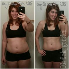 30 day progress pics using the Insanity workout program! #results #motivation #fitness