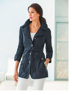 From our Dress Shop - Light Summer Coat from Barbara Lebek. Check it out on the website.