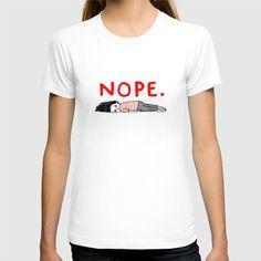 Nope T-shirt by Gemma Correll - $22.00