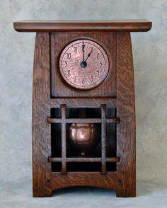 arts and crafts clocks