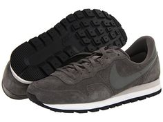 Nike Air Pegasus '83 Suede Mercury Grey/Mortar/Black/Mercury Grey - Zappos.com Free Shipping BOTH Ways