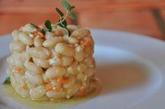 Judías blancas con vinagreta de zanahoria - Recetas Thermomix
