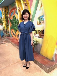 松井愛|今週の衣装|せやねん!|MBS毎日放送 Shirt Dress, Shirts, Dresses, Fashion, Vestidos, Moda, Shirtdress, Fashion Styles, The Dress