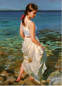 Art - Vladimir Volegov on Pinterest | Female Portrait, Oil Paintings ...: https://www.pinterest.com/aemaloff/art-vladimir-volegov