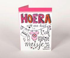 vrolijkfabriek.nl | Hoera, een heel lief klein meisje!
