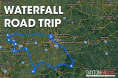 We've compiled a list of Ohio's most beautiful waterfalls in the Southwest region of the state for a great road trip with your family! Take a look at the 8 waterfalls we have found and be sure to plan your trip today!!