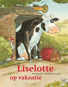 De postbode is op vakantie en schrijft een kaart naar zijn vrienden op de boerderij hij ligt in de zon, eet allemaal lekkere dingen, ziet bijzonder dieren… dat wil koe Liselotte ook wel. Ze pakt haar tas en gaat op weg naar de bushalte. Als de bus er na drie uur nog niet is, keert Liselotte teleurgesteld terug naar de boerderij. En dan ziet ze de perfecte vakantiebestemming. Een grote wei, helemaal voor haar alleen!