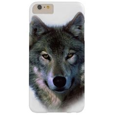 Grey Wolf Eyes iPhone 6 Plus Case