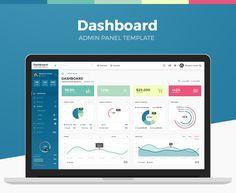 Dashboard Admin Panel PSD Template on Behance