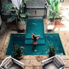 COCOON pool design inspiration | exterior design | villa design | hotel design | bathroom design | renovations | wellness | spa design | sophisticated design products for easy living bycocoon.com | Dutch Designer Brand COCOON #HotelExteriorDesign