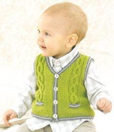 "Babies Vest knitted in Sublime Baby Cashmere Merino Silk Dk [ ""Babies Vest knitted in Sublime Baby Cashmere Merino Silk Dk Más"", Internal Server Error"", ""The Fifteenth Little Sublime Hand Knit Book ] # # # # # # # Baby Boy Vest, Toddler Vest, Baby Cardigan, Baby Boys, Baby Boy Knitting Patterns, Baby Sweater Patterns, Baby Patterns, How To Start Knitting, Knitting For Kids"